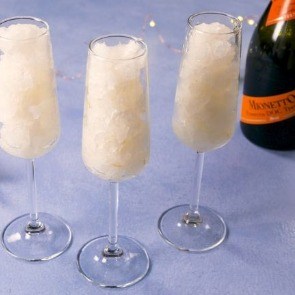 Frozen Prosecco in Champagne Glasses | Century 21 Action Topsail Realty