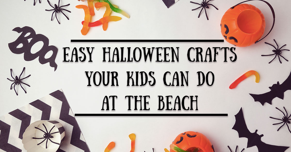 Easy Halloween Crafts Your Kids Can Do at the Beach