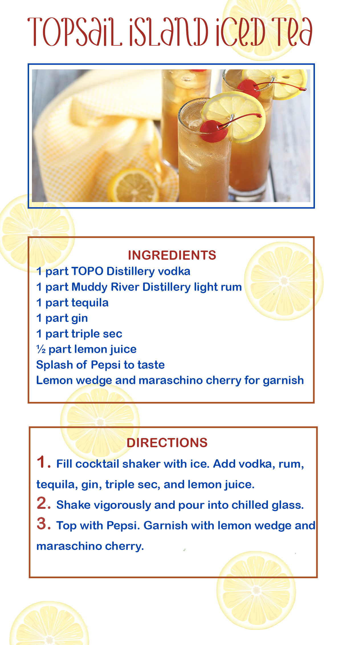Topsail Island Sweet Tea Recipe