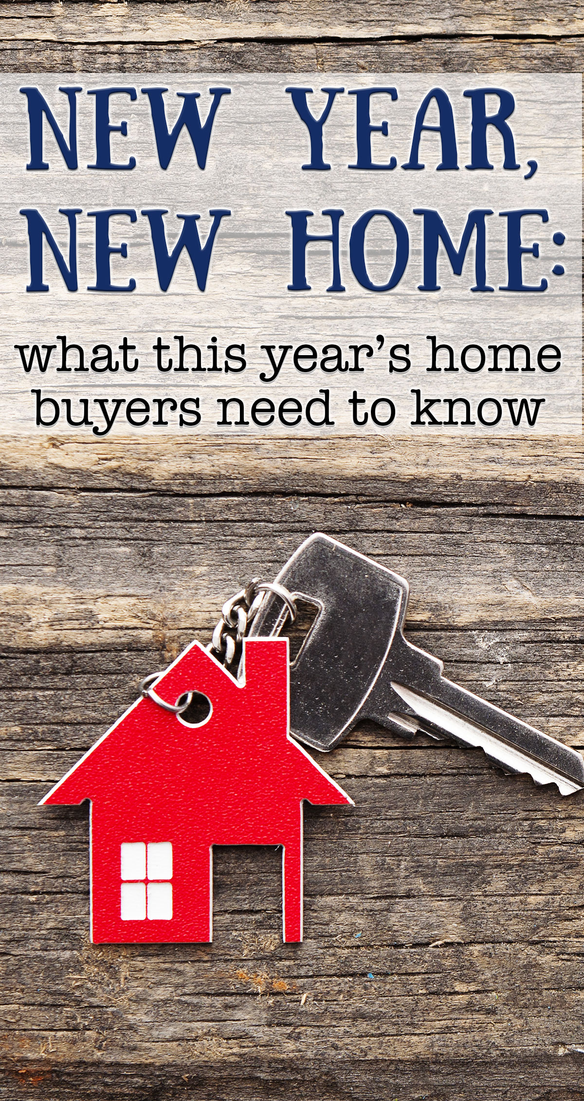 New Year, New Home: What This Year's Home Buyers Need to Know Pin