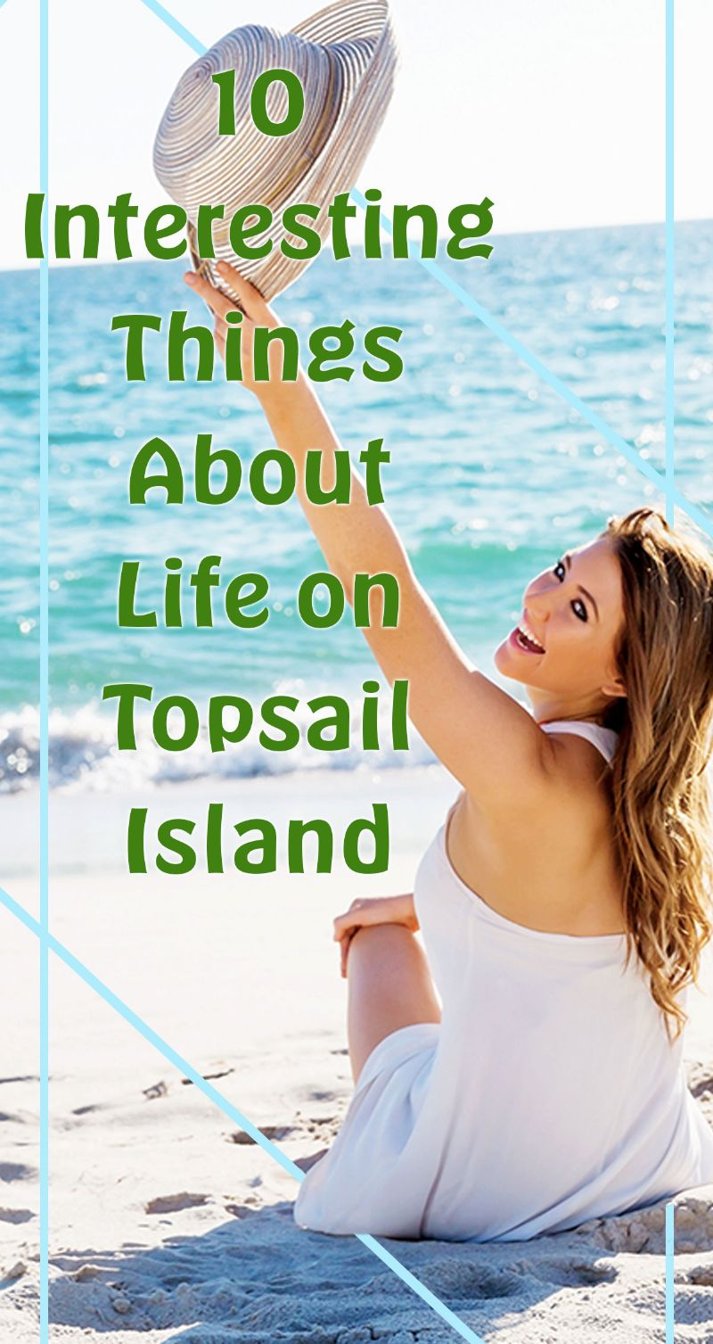 10 Interesting Things About Life on Topsail Island Pin
