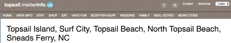 Topsail InsiderInfo