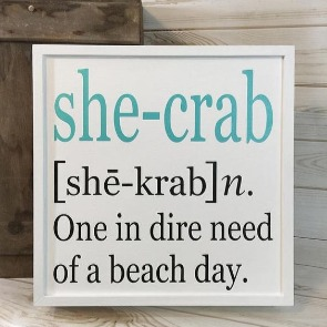 beach quote sign | Century 21 Action