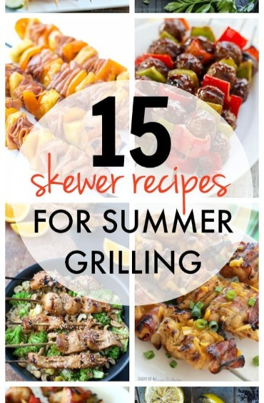 Top 10 meals you can make quickly and easily on vacation 4 grilled kabobs forumfinder Choice Image