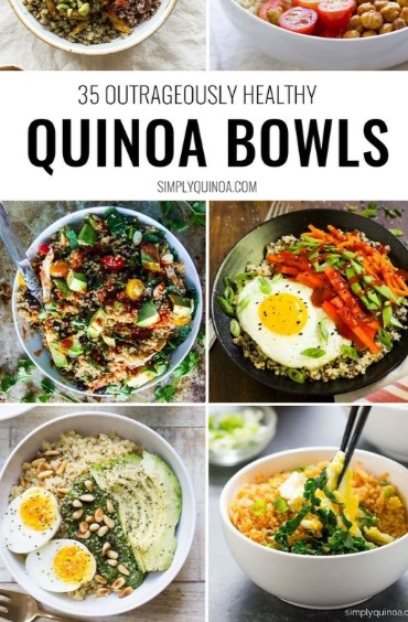 Top 10 meals you can make quickly and easily on vacation 10 quinoa bowls forumfinder Gallery