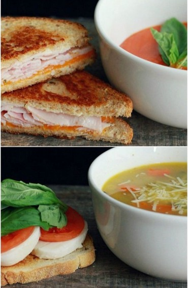 Top 10 meals you can make quickly and easily on vacation 2 soup sandwich forumfinder Choice Image