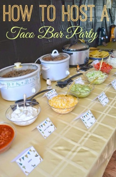 Top 10 meals you can make quickly and easily on vacation 3 taco bar forumfinder Gallery