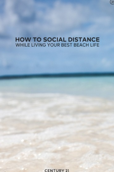 How to Social Distance While Living Your Best Beach Life