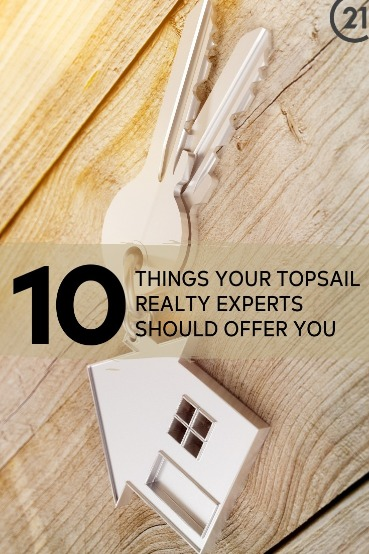 10 Things Your Topsail Realty Experts Should Offer You | Century 21