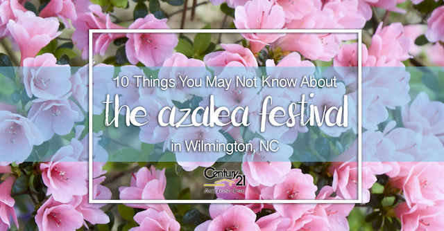 10 Things You May Not About the Azalea Festival in