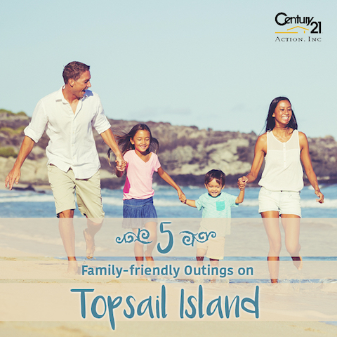 Top 5 Family Friendly Outings on Topsail Island